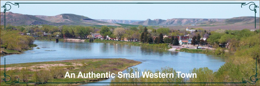 An Authentic Small Western Town
